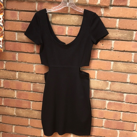 Lucca Couture Dresses & Skirts - Cut Out Side Dress